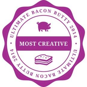 Bacon butty, avocado