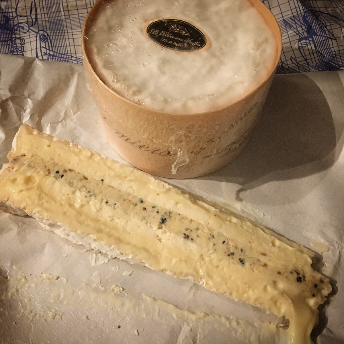 Product of the Month: Brie aux Truffes